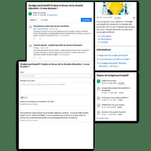 Budget participatif, consultation citoyenne